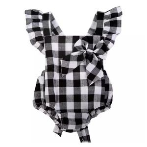 Other - NWT Checkered Romper